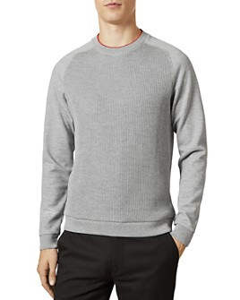 Ted Baker - Pied Ribbed Front Sweatshirt