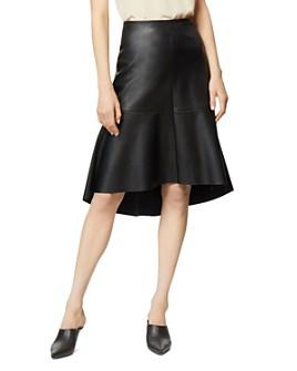 Habitual - Jayda Faux-Leather Trumpet Skirt