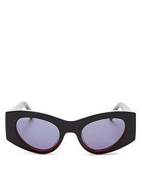Le Specs Luxe - Women's Extempore Cat Eye Sunglasses, 49mm