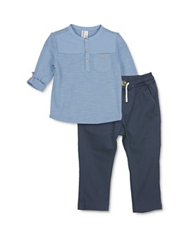 Sovereign Code - Boys' Frontal Henley Tee & Jogger Pants Set - Baby
