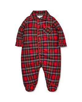 Little Me - Boys' Tartan Plaid Footie - Baby
