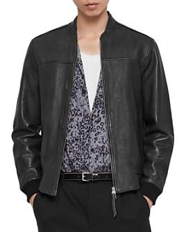 ALLSAINTS - Marsh Leather Bomber Jacket
