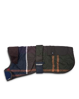 Barbour - Quilted Tartan Dog Coat