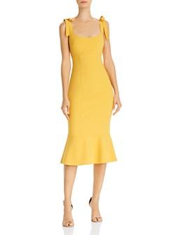 LIKELY - Ellery Tie-Strap Midi Dress