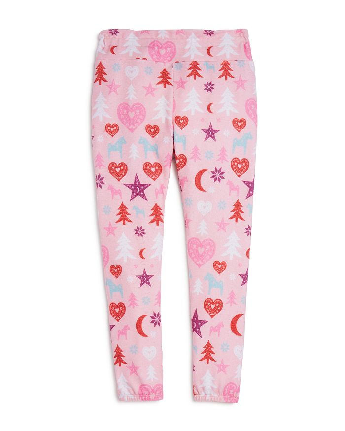 Wildfox Girls' Nordic Weekend Jogger Pants - Big Kid In Multi