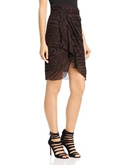 ba&sh - Scarlett Zebra Print Skirt