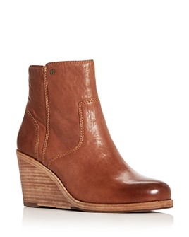 Frye - Women's Emma Wedge Booties