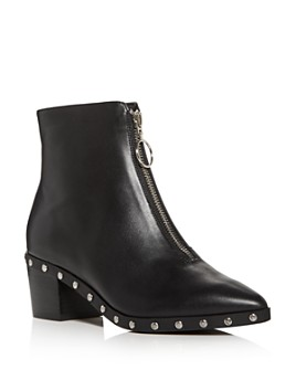 KURT GEIGER LONDON - Women's Sonny Studded Pointed-Toe Booties
