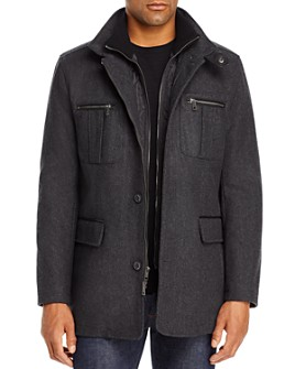 Cole Haan - Four-Pocket Car Coat