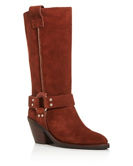 See by Chloé - Women's Harness Mid-Heel Booties