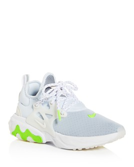 Nike - Women's React Presto Lace-Up Athletic Sneakers - 100% Exclusive