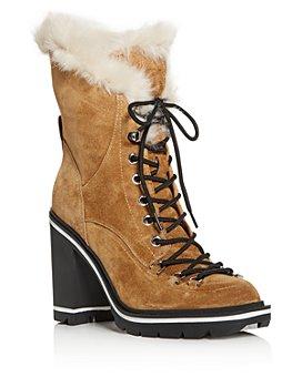 Sigerson Morrison - Women's Odelia Block High-Heel Platform Boots