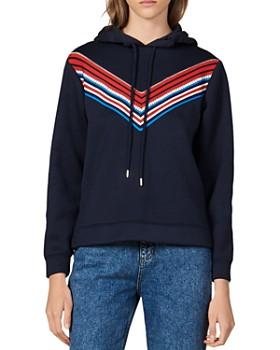 Sandro - Kyle Hooded Sweatshirt