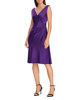 Ralph Lauren - Satin Cocktail Dress