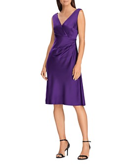 Ralph Lauren - Satin Cocktail Dress