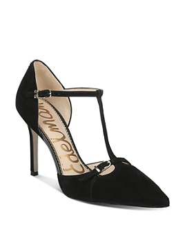 Sam Edelman - Women's Harpar T-Strap Pumps