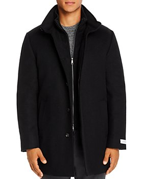 Cardinal Of Canada - Mont Royal Wool & Cashmere Regular Fit Car Coat