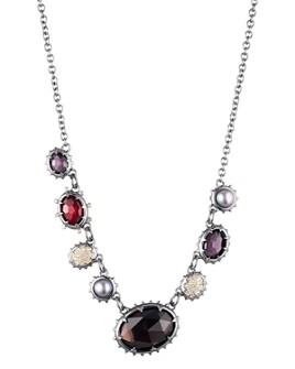 "Alexis Bittar - Woodland Fantasy Stone Strand Necklace, 16""-19"""