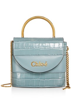 Chloé - Aby Small Lock Chain Crossbody