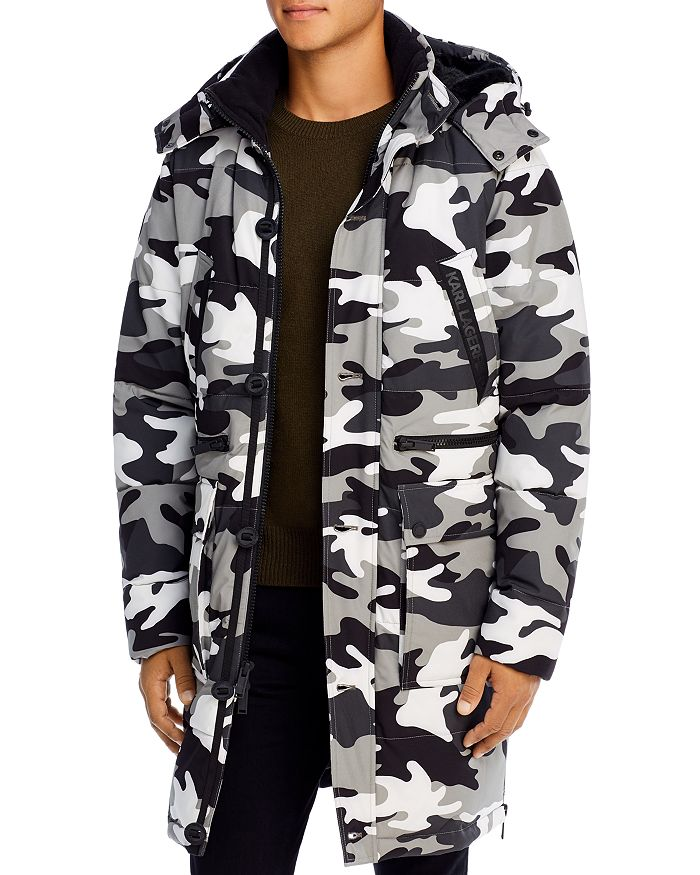 KARL LAGERFELD PARIS - Fleece-Lined Parka