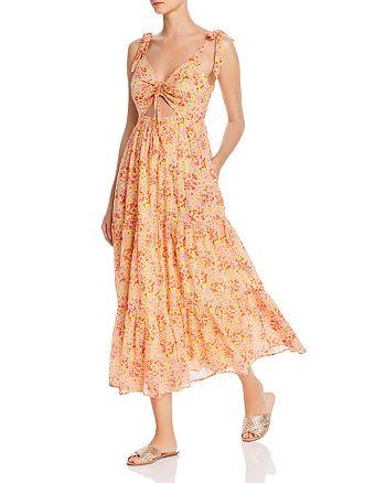Banjanan - Zoe Floral Cutout Maxi Dress