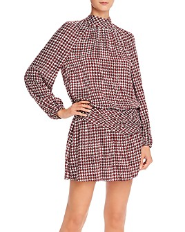Ramy Brook - Dustin Houndstooth Mini Dress