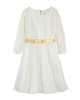 US Angels - Girls' Glitter Lace Dress - Little Kid