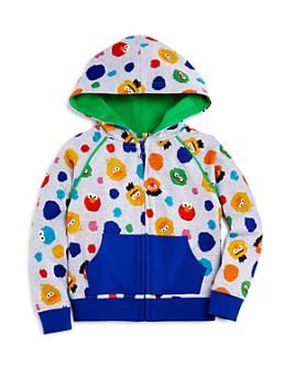 Isaac Mizrahi Loves Sesame Street - Unisex Character Print Hoodie, Baby, Little Kid - 100% Exclusive