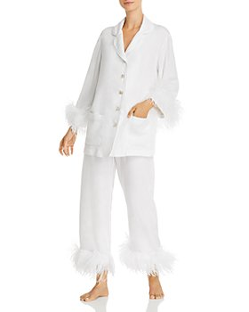 Sleeper - Feather-Trim Pajama Set - 100% Exclusive