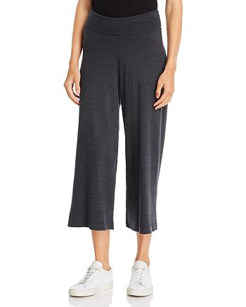 Eileen Fisher - Cropped Sweater-Knit Pants