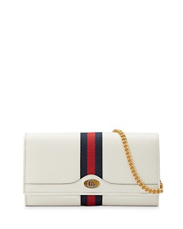 Gucci - Ophidia Leather Chain Wallet