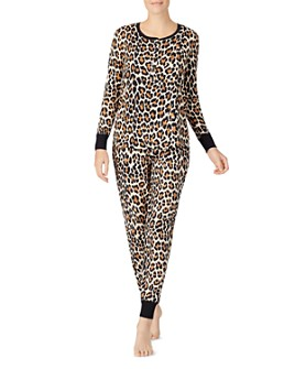 kate spade new york - Printed Long Jogger Pajama Set