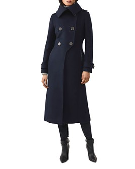 Mackage - Elodie Wool-Blend Military Coat