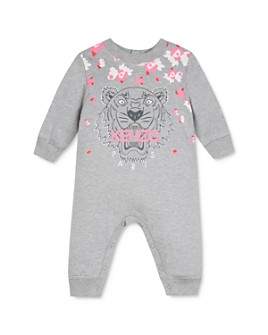 Kenzo - Girls' Tiger & Flowers Coverall - Baby