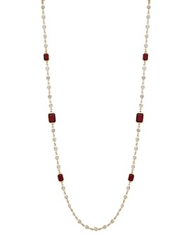 "Ralph Lauren - Chain Station Necklace, 42"""