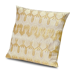 Missoni Ormond Gold Decorative Pillow, 20 x 20