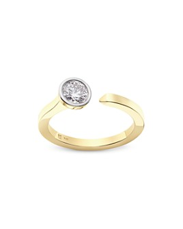 Lightbox Jewelry - Solitaire Open Top Lab-Grown Diamond Ring