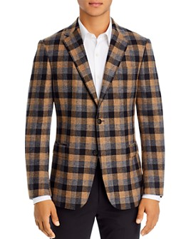 Z Zegna - Drop 8 Plaid Slim Fit Sport Coat