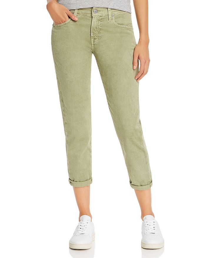 AG - Ex-Boyfriend Slim Jeans in Sulfur Olivewood - 100% Exclusive