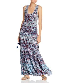 Poupette St. Barth - Jena Drawstring Floral Maxi Dress