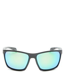 Maui Jim - Men's Makoa Polarized Wraparound Sunglasses, 59mm