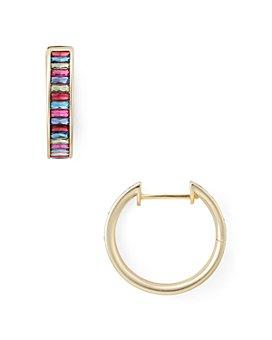 Kendra Scott - Jack Multicolor Faceted Hoop Earrings