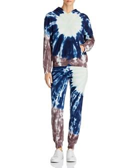 Monrow - Sunburst Tie-Dye Hooded Sweatshirt & Sweatpants