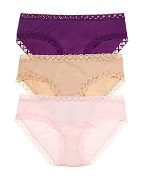 Natori Pants BLISS GIRL BRIEFS, SET OF 3