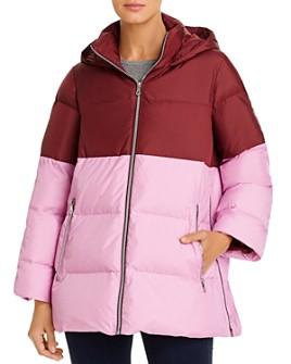kate spade new york - Color-Blocked Puffer Coat