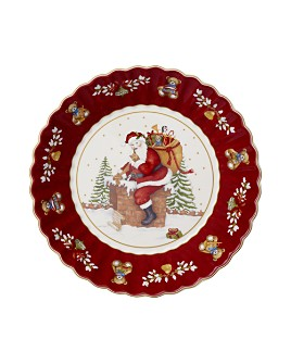 Villeroy & Boch - Toys Fantasy Large Bowl: Santa on the Rooftop