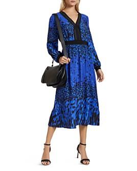 Ted Baker - Maryema Topaz Mixed-Print Midi Dress