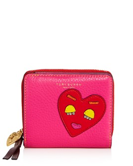 Tory Burch - Perry Patchwork Hearts Bifold Wallet