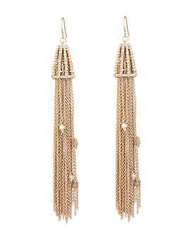 Alexis Bittar - Woodland Fantasy Crystal Tassel Drop Earrings