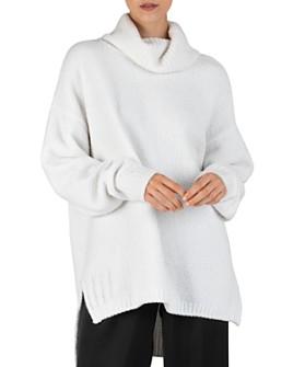 ATM Anthony Thomas Melillo - Chenille Relaxed Turtleneck Sweater